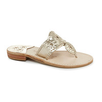 Jack Rogers Hamptons Flat Sandals | Dillards