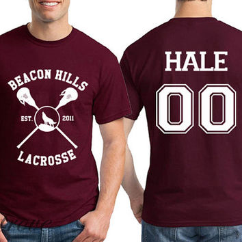 Hale 00 Beacon Hills Lacrosse Teen Wolf Unisex Shirt - RT24