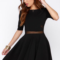 Black Swan Kelsey Black Dress
