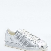 adidas Originals Superstar 80s Metallic Silver Trainers - Urban Outfitters