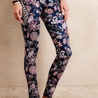 Pure + Good Sempervivum Leggings in Blue Motif Size: