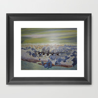Lancaster Framed Art Print by Angie's Dreamworks Art Studio