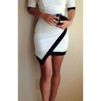Elegant Dresses Bodycon Pencil Short Mini Dress