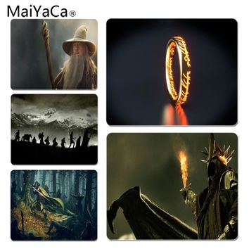 MaiYaCa  The Lord of the Rings mouse pad gamer play mats Size for 25X29cm Gaming Mousepads