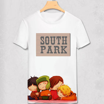 South Park - Anime Style - Funny Geek Designs - Variety Shirt