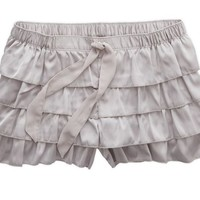 Aerie Women's Satin Ruffle Short