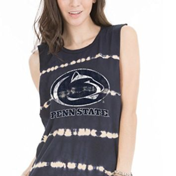 Official NCAA The Pennsylvania State University Penn State Nittany Lions PSU Women's Bamboo Muscle Tee