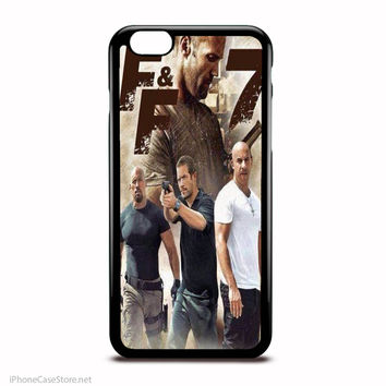 Fast And Furious 7 Doom Hobs And Brian Case For Iphone Case