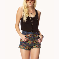 Spike-Button Sleeveless Top | FOREVER 21 - 2048289758