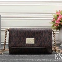 Michael Kors Women Fashion Leather Satchel Shoulder Bag Crossbody