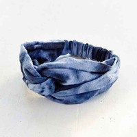 Riverside Tool & Dye Shibori Headband- Navy One