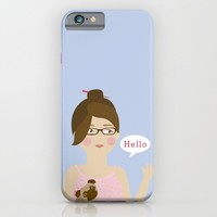 Hello iPhone & iPod Case by 83oranges.com
