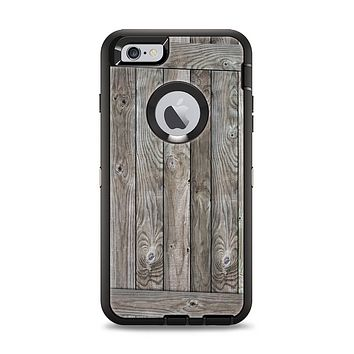 The Wooden Wall-Panel Apple iPhone 6 Plus Otterbox Defender Case Skin Set