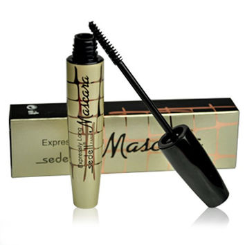 Cosmetic Black Smudge-Proof Natural Lengthen Mascara