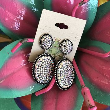 Double Oval Earrings (other colors)