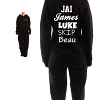 JANOSKIANS ladies adults Onesuit all in one hoodie hooded jumpsuit piece top