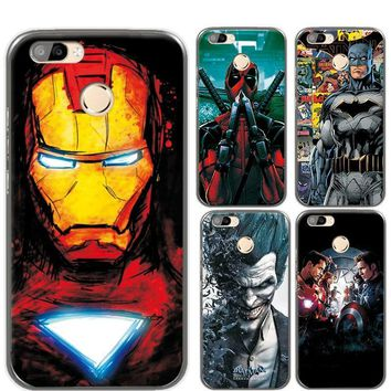 Deadpool Dead pool Taco Charming Painted Case Cover For Oukitel U22 5.5 inch Marvel Avengers Captain America  Funda For Oukitel U22 Phone AT_70_6