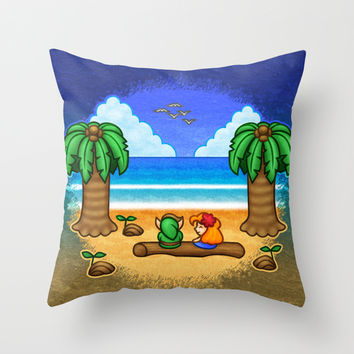 Toronbo Shores Throw Pillow by Likelikes