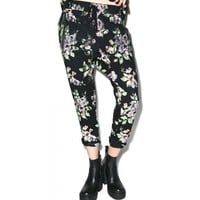 VINTAGE FLANNEL ROSES RYAN'S JOGGER