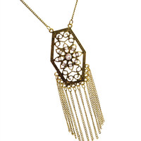 * BURNISH GOLD CHAIN NECKLACE
