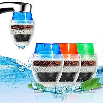 Mini Kitchen Faucet Tap Water Purifier Home Accessories Water Clean Purifier Filter with Filtration Cartridge 16-19mm