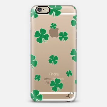 Lucky 4 Leaf Clover iPhone 6 case by Love Lunch Liftoff | Casetify