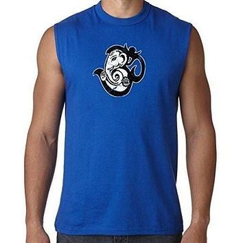 Mens OM Mashup Sleeveless Muscle Tee Shirt