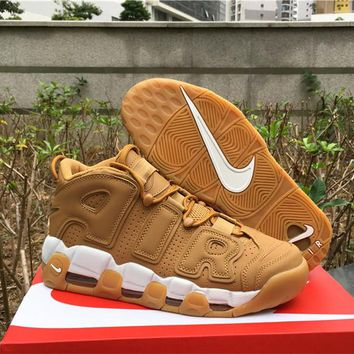Nike Air More Uptempo AIR Wheat AA4060-200 US7-12
