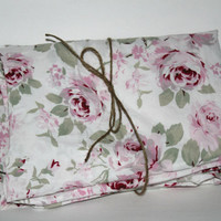 "Rachel Ashwell Simply Shabby Chic ""Rosalie"" Pair Curtain Panels Rod Pocket Style , Feminine Girly Shabby Roses Curtains"