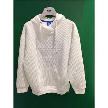 ADIDAS Women Fashion Long Sleeve Top Sweater Hoodie