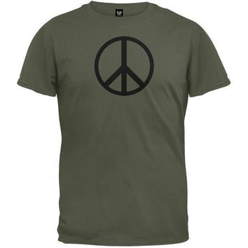 PEAPGQ9 Peace Sign T-Shirt