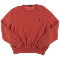 Polo Ralph Lauren Mens Merino Wool Long Sleeves Pullover Sweater