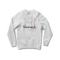 OG Brilliant Crewneck Sweatshirt in White