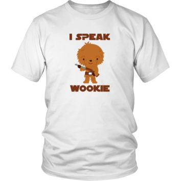 I Speak Wookie - Funny Chewbacca Star Wars Unisex Shirt