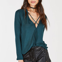 Otherside Draped Top