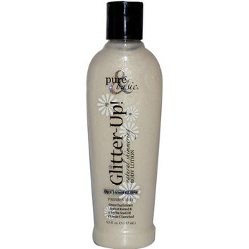 Pure and Basic Glitter-Up Opalescent Natural Shimmering Body Lotion - 6.3 fl oz - Pack Of 1