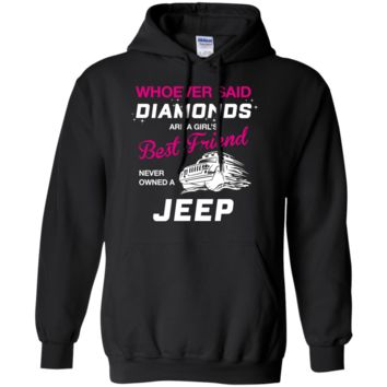 whoever said diamonds are a girl's best friend never owned a jeep T-Shirt