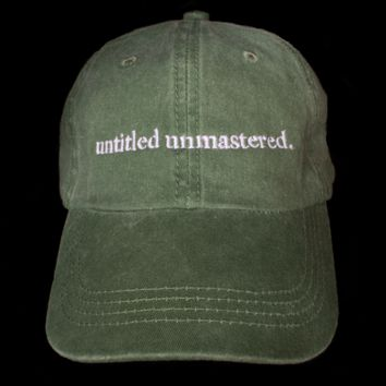 untitled unmastered. Cap