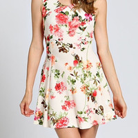 Garden Of Beauty Skater Dress