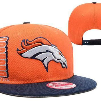 DCCKBE6 Denver Broncos 9FIFTY NFL Football Cap Orange