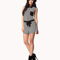 Geo Darling High-Waisted Shorts