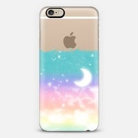 Pastel Dreamy Moonlight and Stars iPhone 6 case by Organic Saturation | Casetify