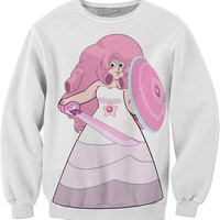 Rose Quartz Steven Universe Sweater