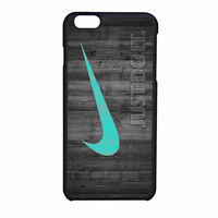 Nike Mint Just Do It Wooden iPhone 6 Case