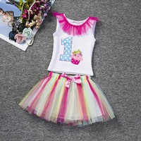 Toddler Girls First Birthday Outfit