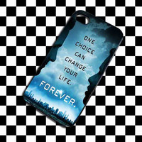 The Brave divergent dauntless quotes iPhone 4, iPhone 4S, iPhone 5, Samsung Galaxy S3, Samsung Galaxy S4 Case