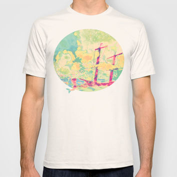 Sail in the Set T-shirt by Ben Geiger