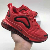 Nike Air Max 720 Kid Shoes Red Black Child Sports Shoes - Best Deal Online