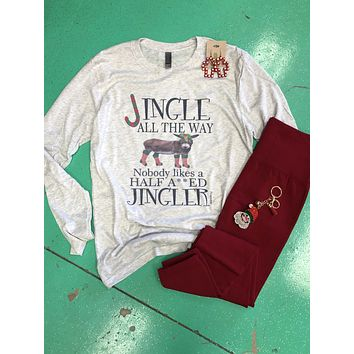 Jingle all the way.. long sleeve top