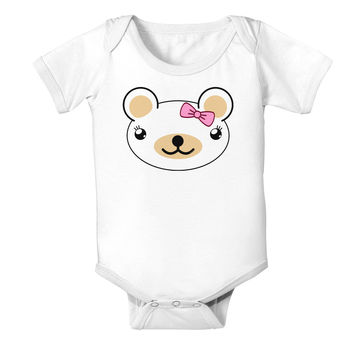 Kyu-T Head - Day Beartholomea Girl Teddy Bear Baby Romper Bodysuit